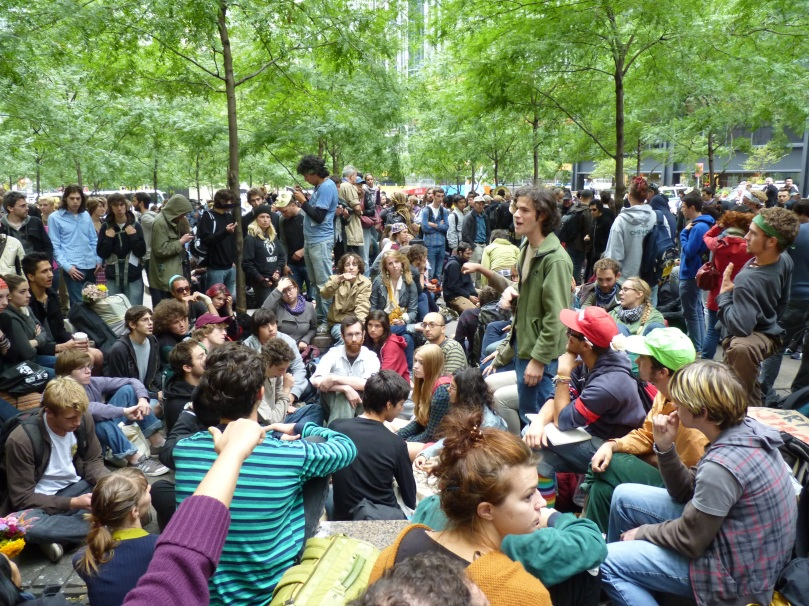 Day 1 of Occupy Wall Street: Political ethnographers should ask how this moment crystallized a movement, not why millions weren't there.