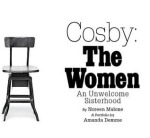 """Empty chair next to title of NYMag article, """"Cosby: The women. An unwelcome sisterhood."""""""